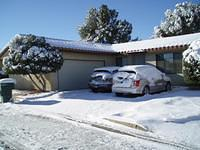 Snow in Mojave